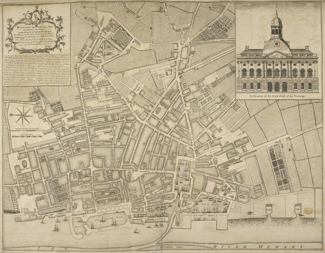 A plan of Liverpool