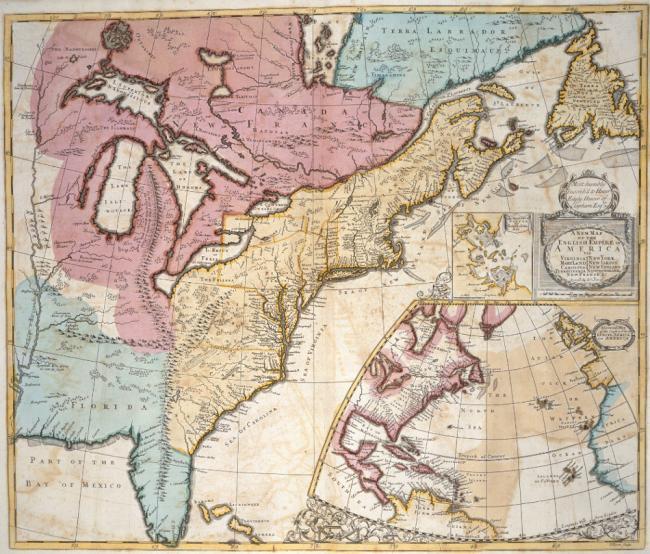North America 1721