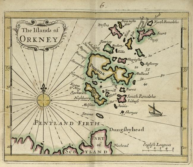 The Orkney Islands,.