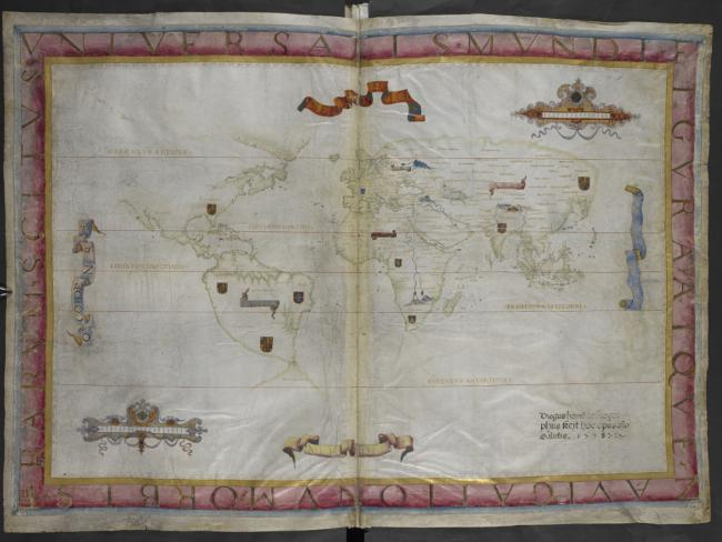 Queen Mary Atlas 1558: Map of the World