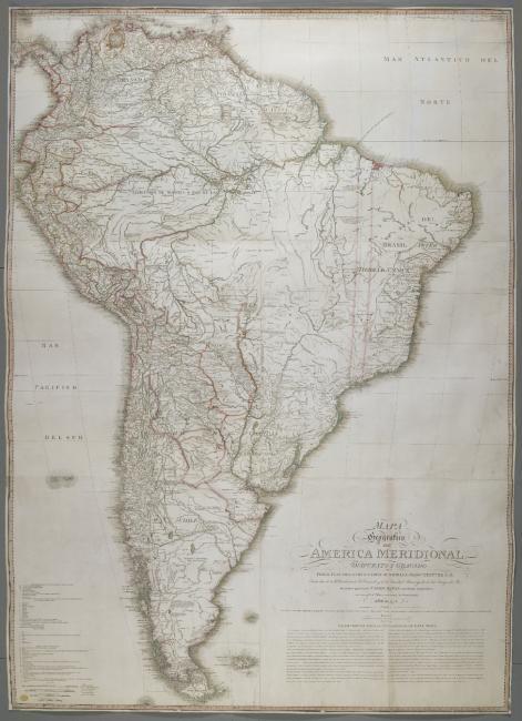 South America 1775