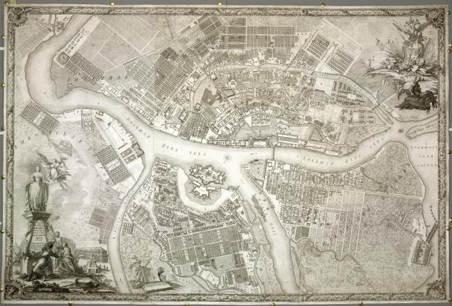 St Petersburg 1753
