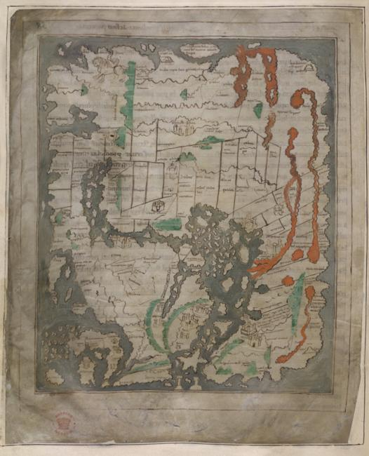 The Anglo-Saxon World Map c.1030