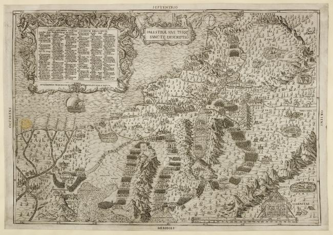 A map of Palestine, or the Holy Land