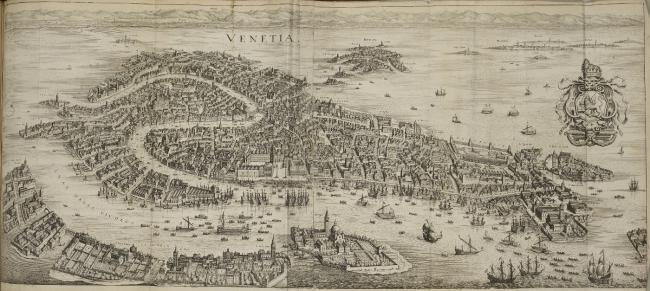 View of Venice., Matthaeus Merian 1593-1650