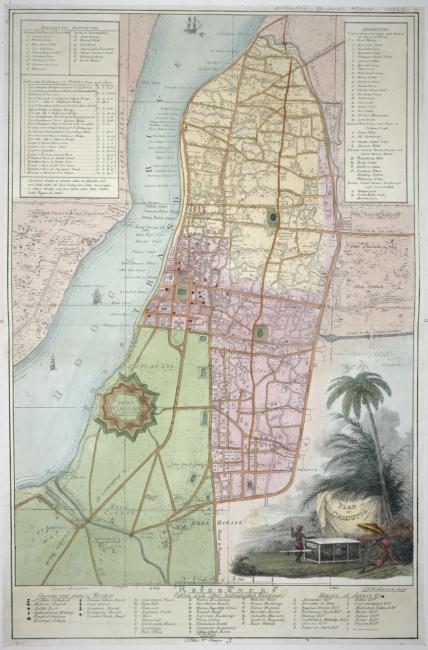 Plan of Calcutta,.