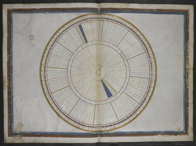 A circular table for finding Easter-day.,Each map f. 7 in. x 1 f. 8 in.