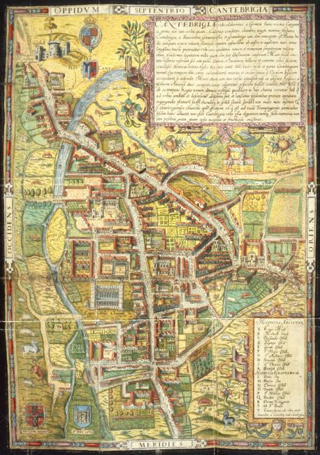Street Map of Cambridge,.