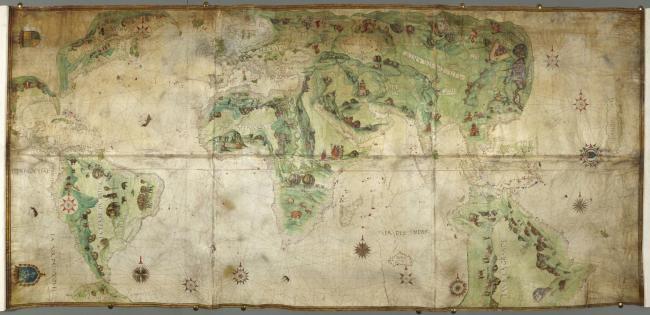 M086 Dauphin Map 1642 sm